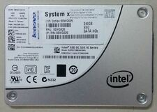 "Lenovo Intel SSD DC S3510 Series 240GB Enterprise Entry SATA 2.5"" Server SSD"