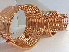 Spirale aus Kupferrohr 12x1mm weich aus 10m mit Ø ca. 20cm (Kupferrohrspirale)