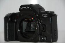 Minolta Dynax 404si 35mm Spiegelreflexkamera nur Gehäuse schwarz wie neu