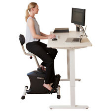 Exercise Bike for Stand Up Desk - Height Adjustable - Ergonomic - Spin Bike
