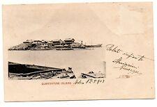 ADEN  QUARANTINE ISLAND 1903  ADEN - ITALY  MEDICINA SANITA' QUARANTENA