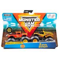 Monster Jam Double Down Monster Trucks Monster Radical Rescue vs. Earth Shaker