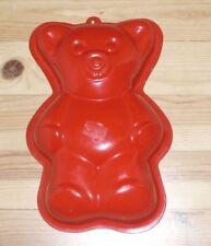 💜💜💜 moule à cake à gateau ours ourson état neuf 27 cm haut * 18 cm de large