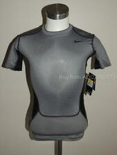 Nike Pro Combat Hypercool Compression Shirt Dry Fit Stay Cool Grey/Black Men S