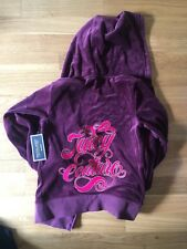 Juicy Couture Hoodie Brand New With Tags Size Xs Genuine Item. Rrp £125 Per Tag