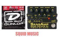 Tech 21 NYC SansAmp Bass Driver DI V2 Pre-amp Pedal Direct Box ( BASS STRINGS )