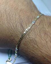 Bracciale Oro giallo 750 18 Karati Uomo Braccialetto Cm 20,5 Grammi 3