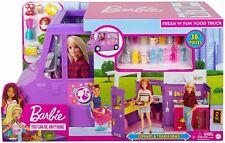 More details for barbie fresh n fun food truck playset