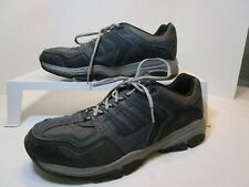 SKECHERS  Relaxed Fit Navy/Black Athletic Style Oxfords Men's 13