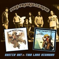 Pure Prairie League Bustin' Out/Two Lane Highway 2on1 CD NEW SEALED 2013