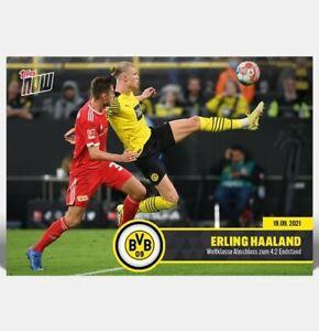 Topps Now BVB | #3 Erling Haaland - Borussia Dortmund (PreOrder) DE
