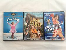 Comedy DVD's (Lot of 3) Land of the Lost-Blades of Glory-On Edge