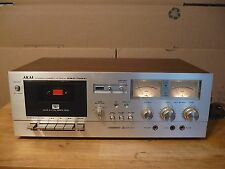 Akai GXC 709-D Stereo Cassette Player Deck (1978-79) works good