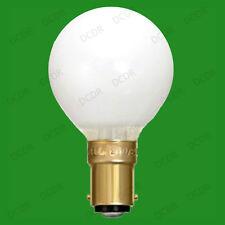 10x 15W Crompton G45 à variation Opale Incandescent Golf Ampoule Lumière Lampes