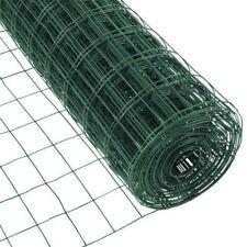2 X 50 Ft Welded Wire Fence Mesh Garden Fencing Galvanized Vinyl 16 Gauge Coated