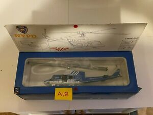 Bell 412 NYPD Police Helicopter 1/48 Scale Die Cast A18