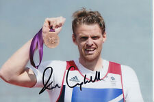 ALAN CAMPBELL HAND SIGNED GREAT BRITAIN 6X4 PHOTO LONDON 2012 5.