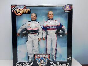 Vintage Kenner Dale Earnhardt Sr. & Jr. 1998 Winners Circle Nascar Figures
