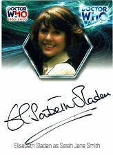 Doctor Who 40th Anniversary Autograph WA15 Elisabeth Sladen as Sarah Jane Smith