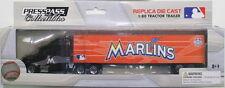 MIAMI MARLINS MLB 2012 TRACTOR TRAILER REPLICA SEMI DIECAST TRUCK 1:80 SCALE