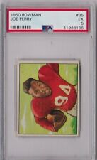 1950 Bowman Joe Perry Rookie #35 PSA 5 P397