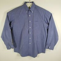 Brooks Brothers Mens Dress Shirt Button Down Long Sleeve All Cotton Size 16.5/35