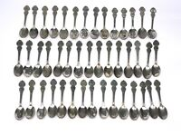 Lot of 44 American Collectors Guild Heritage Collection US Spoons VTG