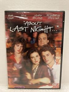 """""""About Last Night..."""" DVD (Rob Lowe, Demi Moore) NEW Sealed"""