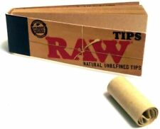 Rolling Papers Consejos De Filtro Sin Blanquear 10 Pack 500 Tips
