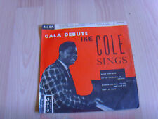 "7"" single vinyl record gala debut ike cole sings"
