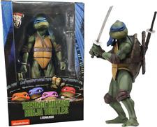 Leonardo Teenage Mutant Ninja Turtles 1990 Movie TMNT 18cm Action Figur NECA