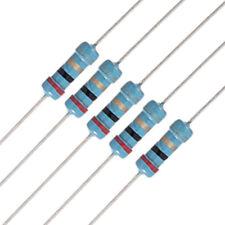 20 x 1 / 2W Watt 2 ohm 2R Carbon Film Resistor 0.5W B1T8