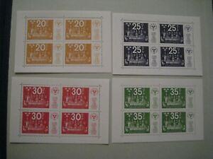 Sweden Stamps MNH M/S 1974 SGMS783 Stockholmia '74 (4 sheets)
