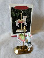 TOBIN FRALEY CAROUSEL Horse 4th in Series HALLMARK KEEPSAKE ORNAMENT 1995 Dated