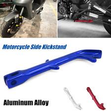 1×Motorcycle CNC E-bike Modified Foot Brace Side Tripod Stand Monopod Kickstand