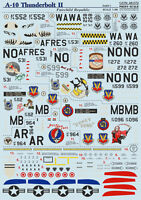 Print Scale 48-072 - 1/48 Decal for A-10 Thunderbolt Ii Part 1
