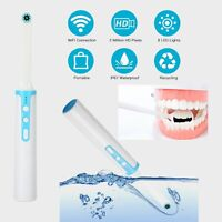 WIFI Oral Dental Intraoral Camera Endoscope HD Wireless 8 LED For Android iPhone