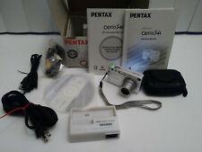 PENTAX Pentax Optio S4i 4 Megapixels 3x Optical Zoom Digital Camera - Silver
