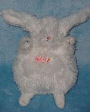 Itty Bit White Plush Bean Bag Bunny Rabbit Bunnies By The Bay Stuffed Baby Toy 6