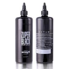 12oz Tattoo Ink Zuper Black 360ml Intenz Tattoo Pigment Permanent Large Bottle