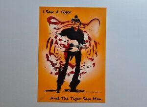 A3 Tiger King Joe Exotic Spray Art Poster Painting, Street / Graffiti Style