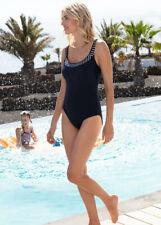 NEW Fantasie San Remo Scoop Back Swimsuit 34F - Ink Blue