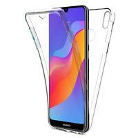 "Coque Housse 360° Clear FULL TPU Gel Silicone Huawei Honor Play 8A 6.09"""