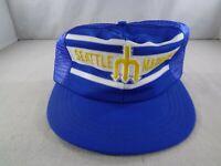 Vintage Seattle Mariners Baseball Hat Cap - Trident - Snapback MLB