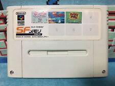 SF Memory with Twinbee Puzzle Bobble Super Famicom Japan NTSC-J Konami Taito