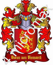 Adelstitel  = BARON von Bismarck = oder Freiherr, Geburtstag, Urkunde, Geschenk,