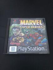 Jeu Ps1 - Marvel Super Heroes - COMME NEUF - PAL FR