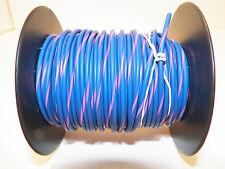 100 FOOT SPOOL 16 GAUGE GXL HI TEMP WIRE BLUE/PINK STRIPE AUTOMOTIVE   FEET