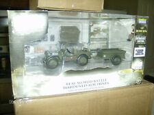 Forces of Valor #81008 U.S. General Purpose Jeep w/ Trailer 1/32 Scale