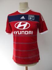 Maillot de football vintage Olympique Lyonnais N°7 Clément GRENIER Adidas Rouge